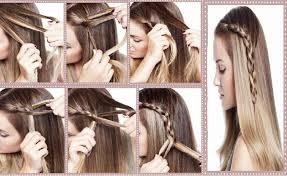 Idée Coiffure Cheveux Mi Long Facile Et Rapide