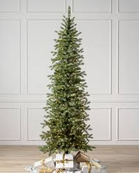 Balsam Hill Light String Out Cathedral Fir Tree Realistic Artificial Christmas Trees
