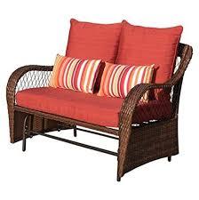 wicker loveseat outdoor furniture
