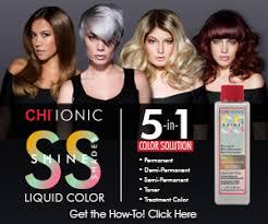 Farouk Chi Hair Color Chart Behindthechair Com Chi Ionic Shine Shades Liquid Hair