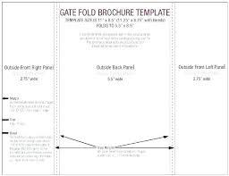 Folding Poster Template 11 X 17 Brochure Template Word Free Flyer Template Gate Fold Brochure