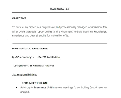 Resume Job Duties Examples Delectable Sample Of A Resume Format Dewdrops