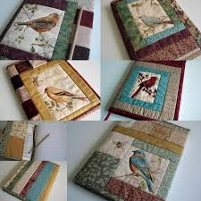57 best pandaemonium images on Pinterest | Embroidery ideas ... & Quilted Journal Cover Adamdwight.com