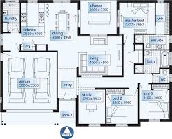 one y modern house plans homes floor plans
