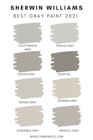 Imagine how disappointed i would have been had i simply picked the too blue color to the right (rain) at the paint store without seeing. The Best Sherwin Williams Gray Paint Colors In 2020 Stampinfool Com
