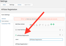 Creating Affiliate Registration Forms | Itthinx Documentation