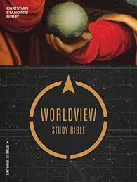 Csb Worldview Study Bible By Anonymous