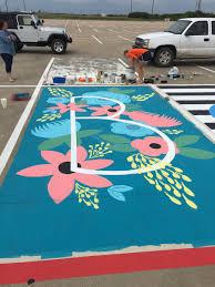 steve vaughn on twitter painting the senior parking spots roysecityhs