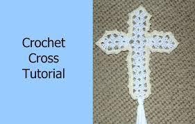 Crochet Cross Pattern Beauteous How To Crochet A Cross Tutorial Crochet Jewel YouTube
