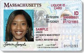 Cards Ids Identification Types And Of Liquor Mass Mass gov
