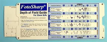 Photography Depth Of Field Chart Depth Of Field Calculator Canon Depth Of Field Chart