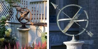 sundials and armillary spheres bring