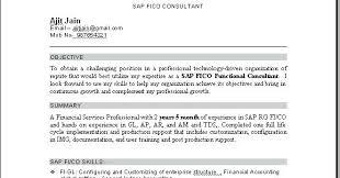 Sap Fico Sample Resume Sap Fico Resume Sample Pdf Or Sap 19 Mulhereskirstin Info