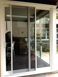 pella sliding patio doors 3 panel patio door triple sliding glass