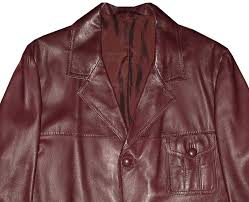 hand made donnie brasco johnny depp style leather jacket vintage look xl 46r 46