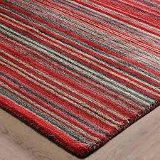 red and white striped rug design ideas rugby stripe