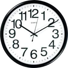 large office clocks. Office Wall Clocks Large Depot Brand Commercial Clock Black For Sale C