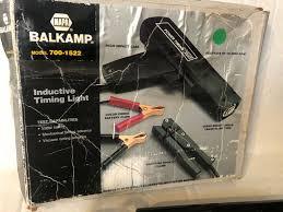 Timing Light Napa Napa Balkamp Inductive Timing Light Vintage Made Usa