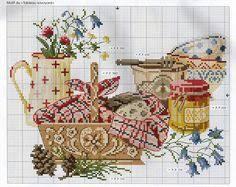 схемы вышивки крестиком: лучшие изображения (456) | Вышивка ...
