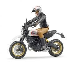 <b>Мотоцикл Scrambler Ducati</b> с мотоциклистом <b>Bruder</b> — купить в ...