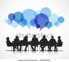 meeting free business meeting silhouette stock images royalty free images