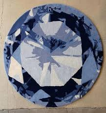 beautiful odd shaped rugs for diamond deep ocean modern rug design in round circle shape handmade best of odd shaped rugs