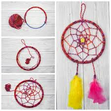 Dream Catcher Patterns Step By Step Gorgeous DIY Dreamcatcher Tutorial Mum In The Madhouse