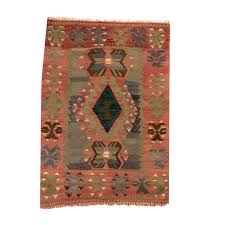 3x5 affordable boho rustic hand woven turkish floor kilim area area rugs