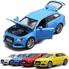 <b>1:32 Scale</b> Audi RS6 Quattro <b>Diecast</b> Alloy Metal Luxury Car Model ...