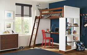 Modern loft beds for adults with desk