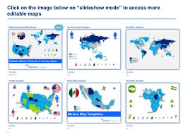 powerpoint map templates 100 editable powerpoint maps templates