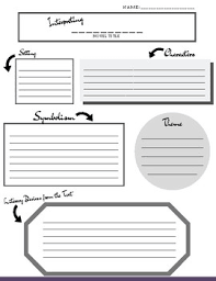The Novel One Pager Template