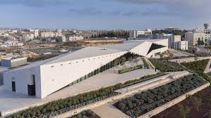 The Formation Urban Design Landscape Architecture Interiors Structures Irish Architects Complete Limestone Clad Palestine Museum