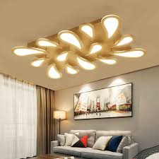 living room lighting fixtures. Modern LED Acrylic Water-droplets Ceiling Lights Fixtures Brightness Dimmable For Dining Room Living Indoor Home Lighting