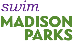 goodman logo. swim madison parks logo goodman