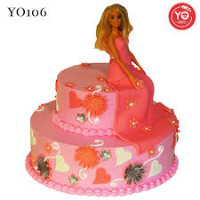 Barbie Doll Cake Girls Birthday Cake Online Birthday Cake