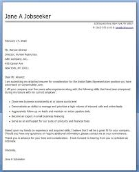 Cover Letter Examples Inside Sales Rep Sample Resume Cover