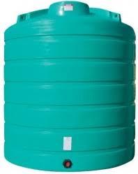 4000 Gallon Vertical Plastic Storage Tank