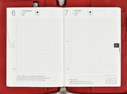 daily page calendar daily pages hobonichi techo planner book buying guide