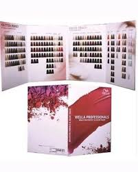 Colour Touch Colour Chart Wella Colour Touch Chart Large New For 2017 20 00