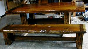 rustic kitchen table with bench. Rustic Kitchen Table With Bench Seating Lovely Corner And Set Wood Dining Room Tables