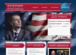 Political Website Templates The Politician Website Template Wix