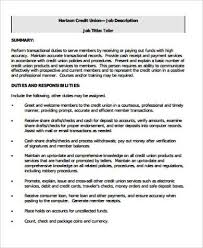 Bank Teller Job Description For Resume Mesmerizing 48 Sample Bank Teller Resumes Sample Templates