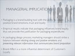 MANAGERIAL IMPLICATIONS     SlideShare