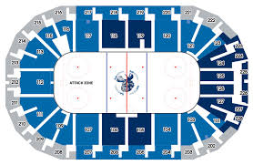 Mts Arena Seating Chart Meticulous Mts Centre Jets Seating Chart 2019