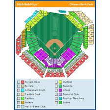 Phillies Seating Chart Diamond Club 19 Genuine Citizens Bank Park Concert Seating