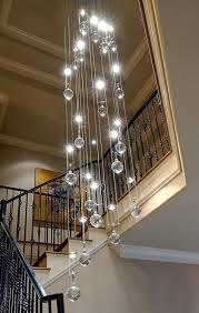 lighting glamorous hanging ball chandelier 3 amazing 4 picture red clear glass