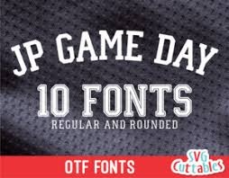 Archive of freely downloadable fonts. Sport Fonts Set Of 5 Svgcuttablefiles
