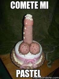 comete mi pastel - | Memeandote | Crea Memes divertidisimos y ... via Relatably.com
