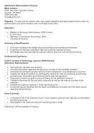 admissions representative resume sample resume admissions representative  resume format patient admission representative resume